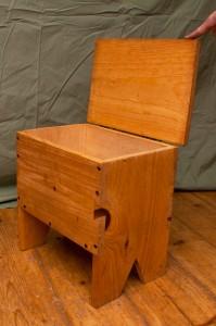 Smaller standing box